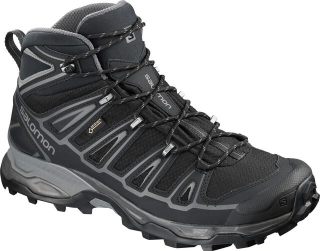 Salomon X Ultra Mid 2 Spikes GTX Shoes Men, black